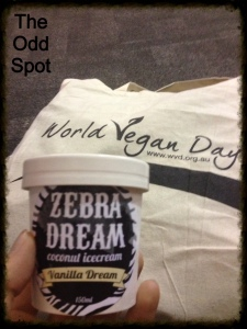 "Zebra Dream ""Vanilla Dream"" Coconut Ice-Cream"