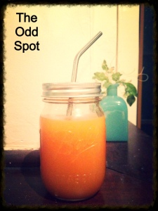 Cold-Pressed Apple, Carrot and Ginger